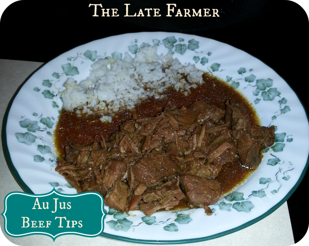 Au Jus Beef Tips