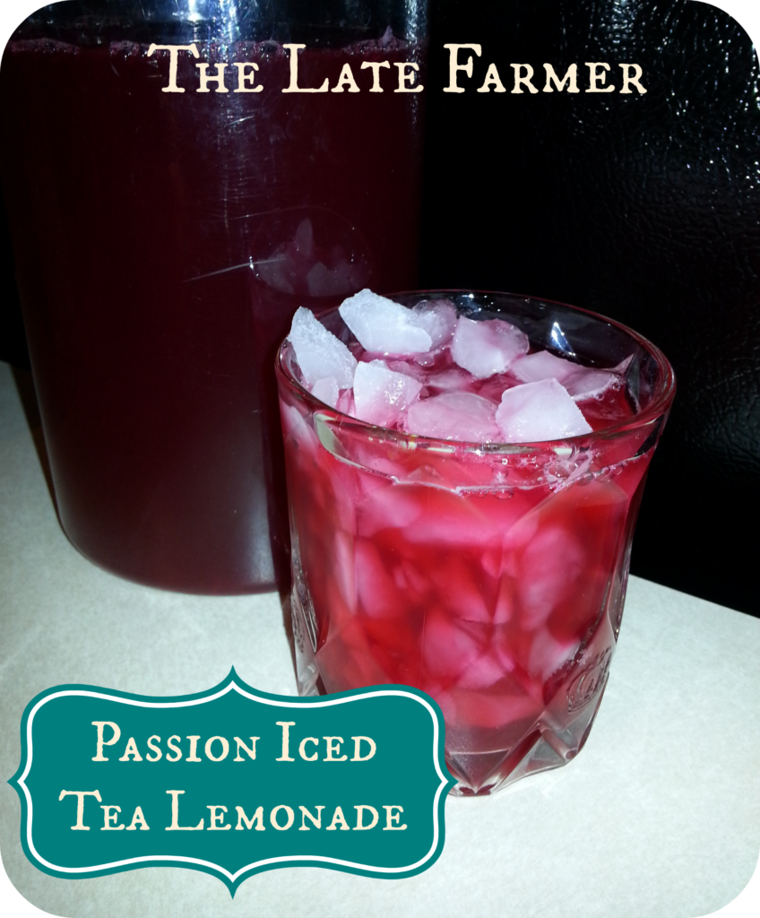 Passion Iced Tea Lemonade
