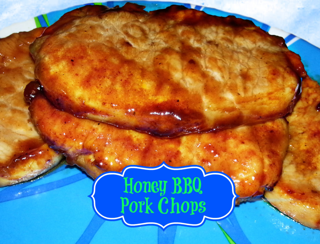 Honey BBQ Pork Chops