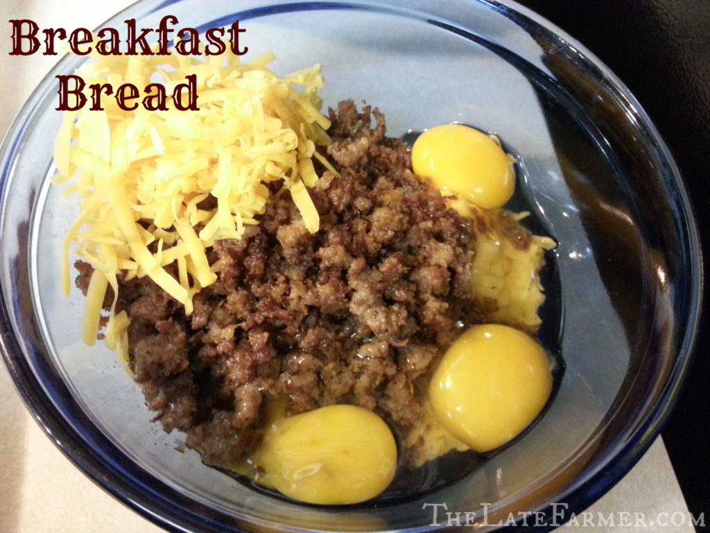 A delicious recipe from my house to yours! A breakfast bread you will love! ~TheLateFarmer.com