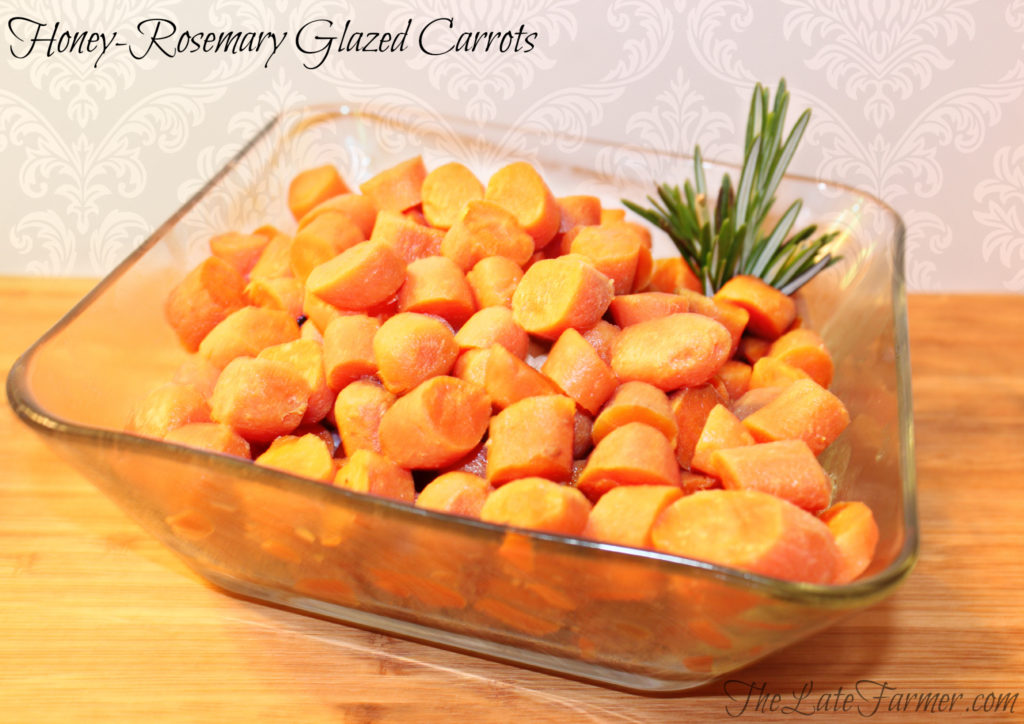 Honey-Rosemary Glazed Carrots
