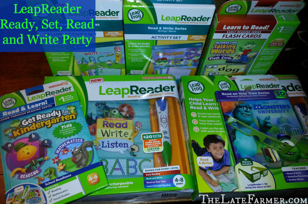 Ready, Set, Read and Write Party