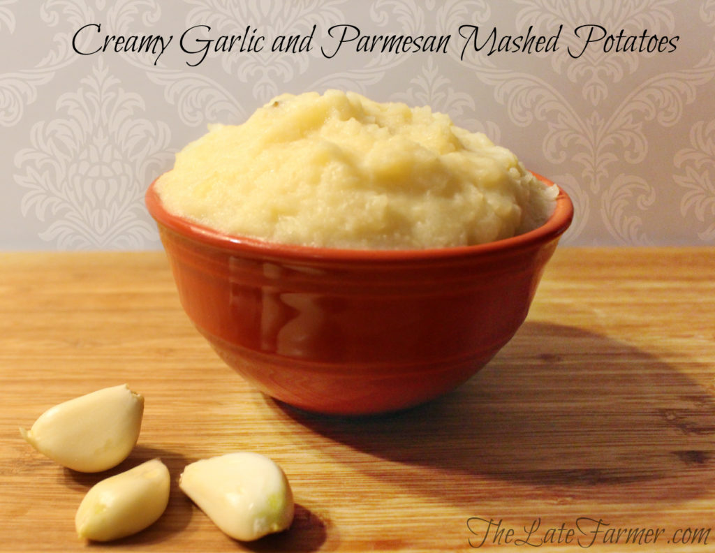 Creamy Garlic and Parmesan Mashed Potatoes