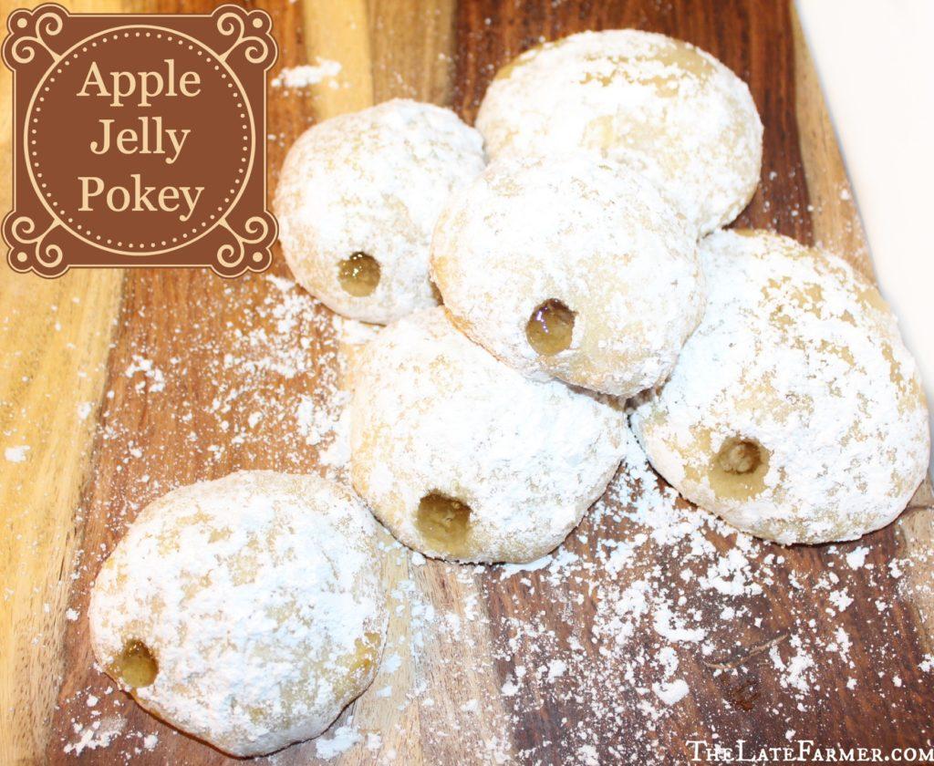 Apple Jelly Pokey - TheLateFarmer.com