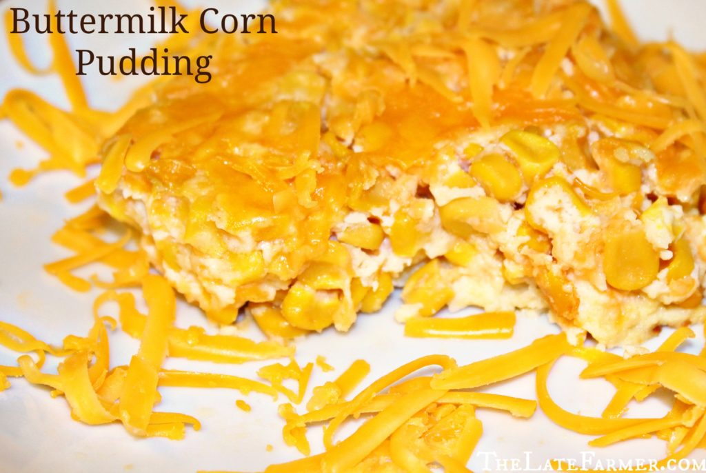 Buttermilk Corn Pudding