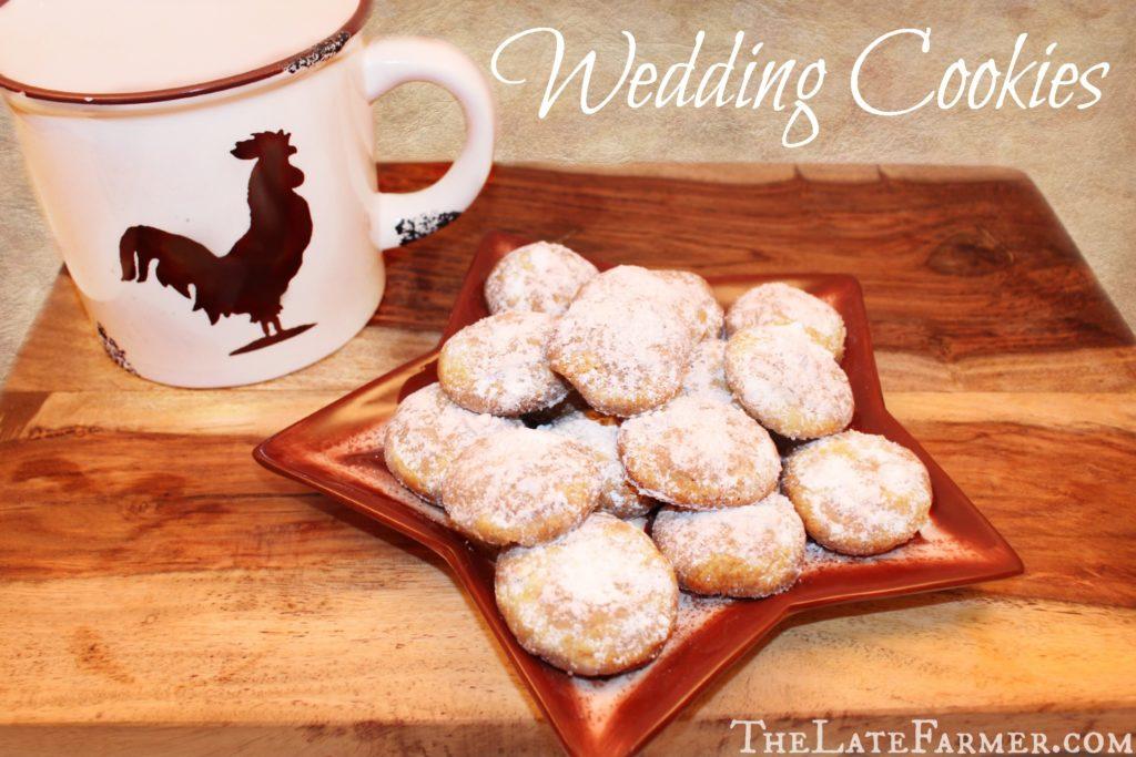Wedding Cookies - TheLateFarmer.com