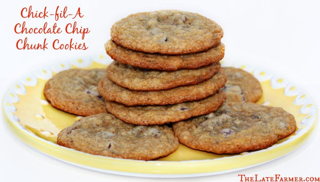 Chick-fil-A Chocolate Chip Chunk Cookie Recipe - TheLateFarmer.com