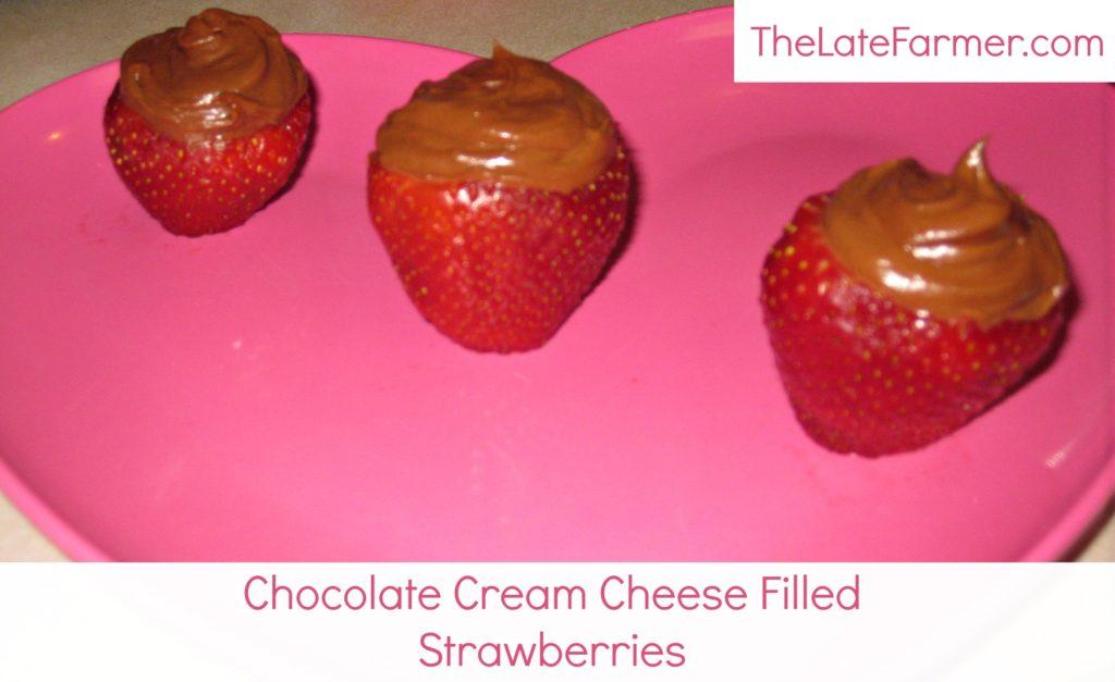 Chocolate Cream Cheese Strawberries