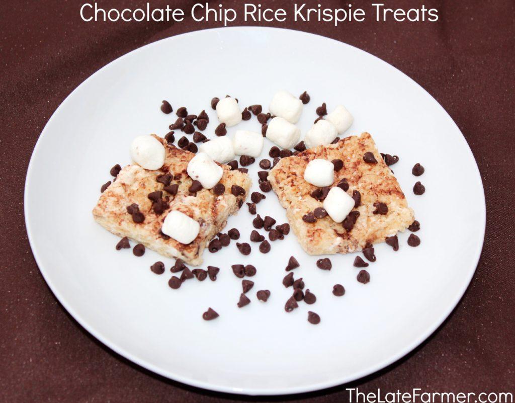 Chocolate Chip Rice Krispies Treats