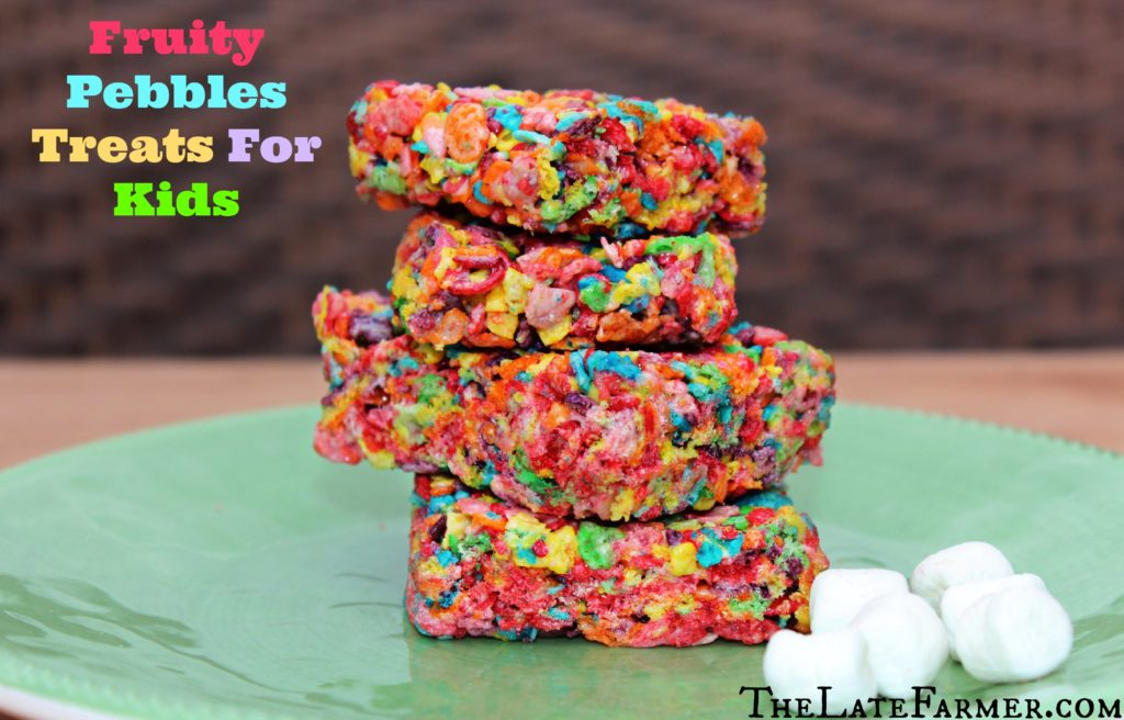 Fruity Pebbles Treats For Kids