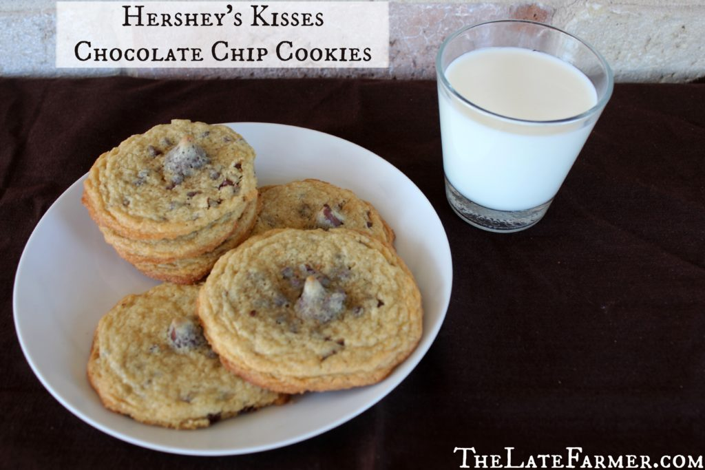 Hershey's Kisses Chocolate Chip Cookies