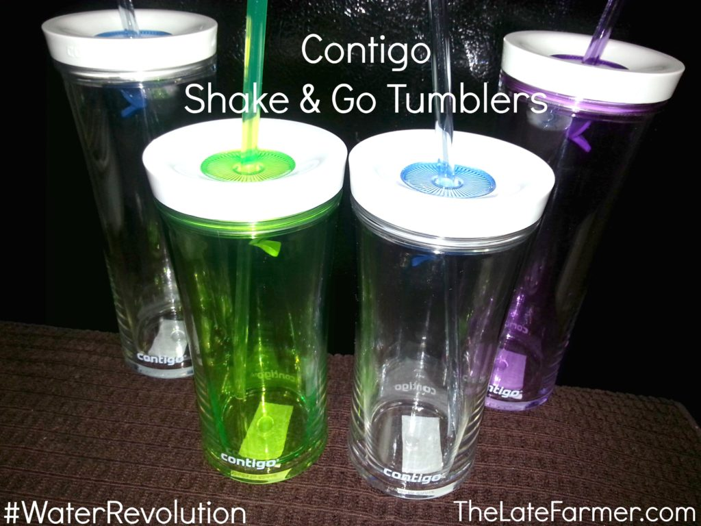 Stay Hydrated with Contigo Shake and Go Tumblers