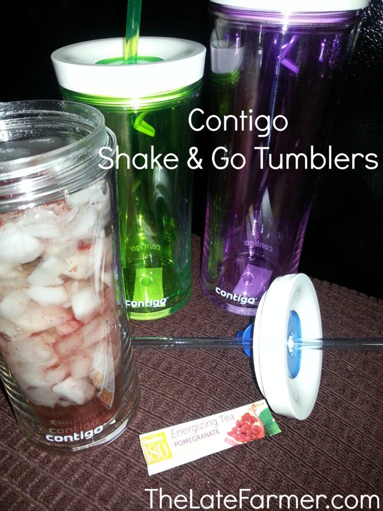 Contigo Shake & Go Tumblers  TheLateFarmer.com