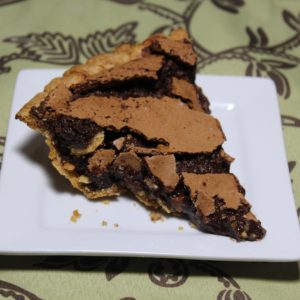 Rachel's Chocolate Fudge Pie